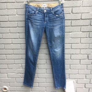 PAIGE jimmy skinny jeans 27